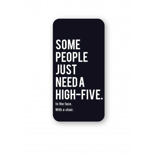 [High five]