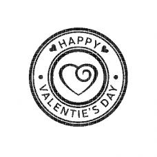 Valentin bélyeg