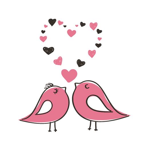 [Valentin-nap madár]