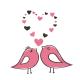 Valentin-nap madár